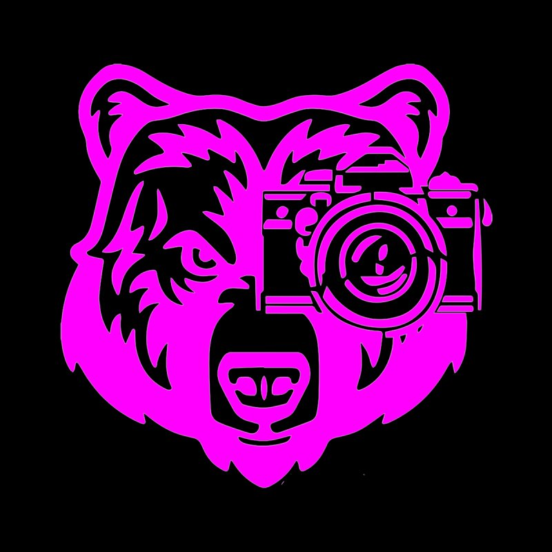 Pink Bear Big Men's Tank by jpaullphoto's Artist Shop