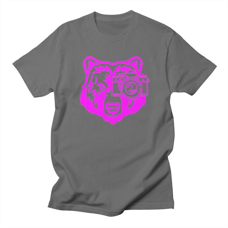 Pink Bear Big Women's T-Shirt by jpaullphoto's Artist Shop