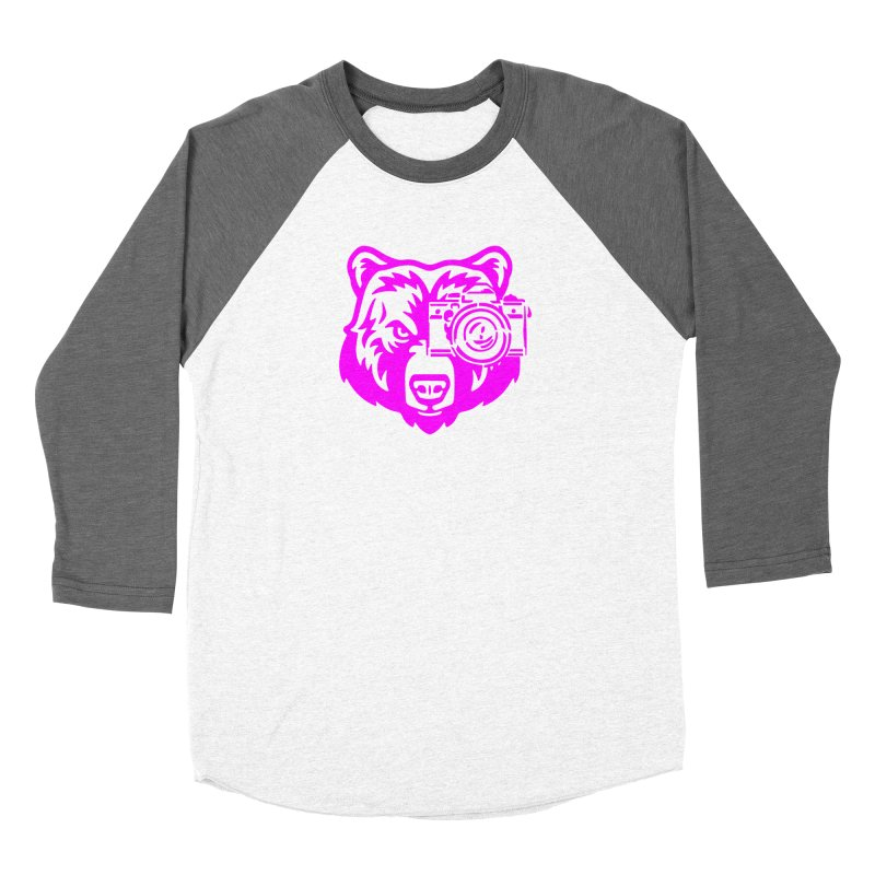 Pink Bear Big Women's Longsleeve T-Shirt by jpaullphoto's Artist Shop