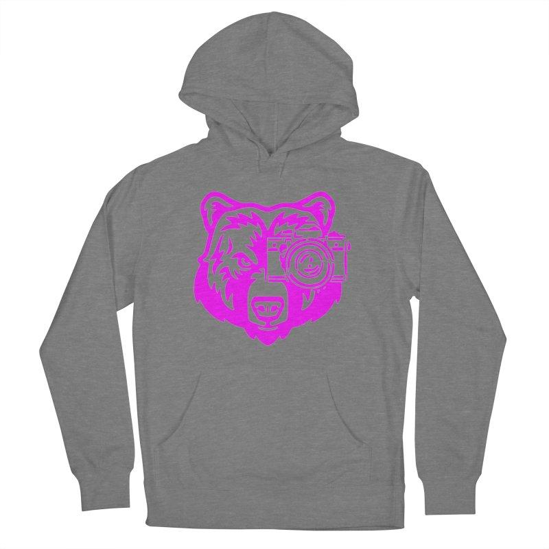 Pink Bear Big Women's Pullover Hoody by jpaullphoto's Artist Shop