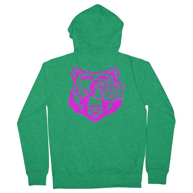 Pink Bear Big Women's Zip-Up Hoody by jpaullphoto's Artist Shop