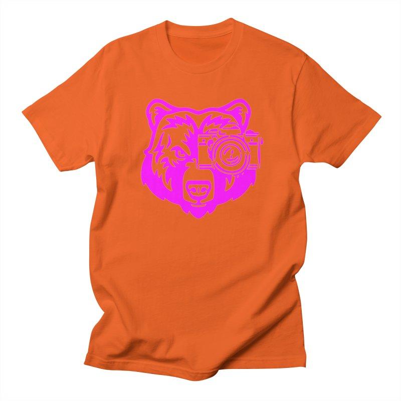 Pink Bear Big Women's Regular Unisex T-Shirt by jpaullphoto's Artist Shop