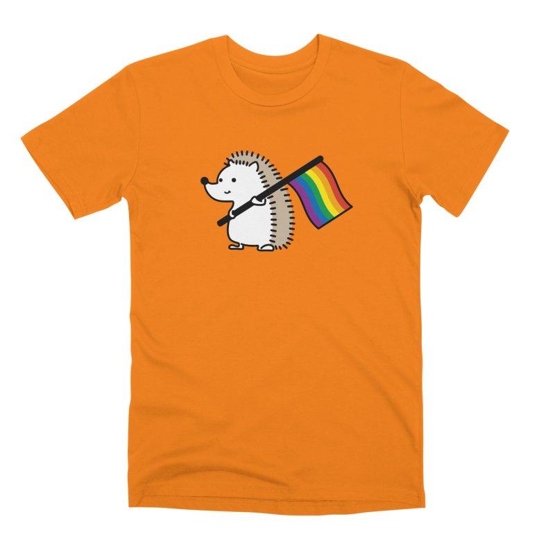 Gay Hedgehog Men's T-Shirt by JP HOUSE