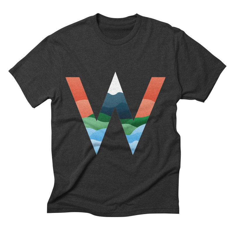 Whistler Men's Triblend T-Shirt by jportch's Artist Shop
