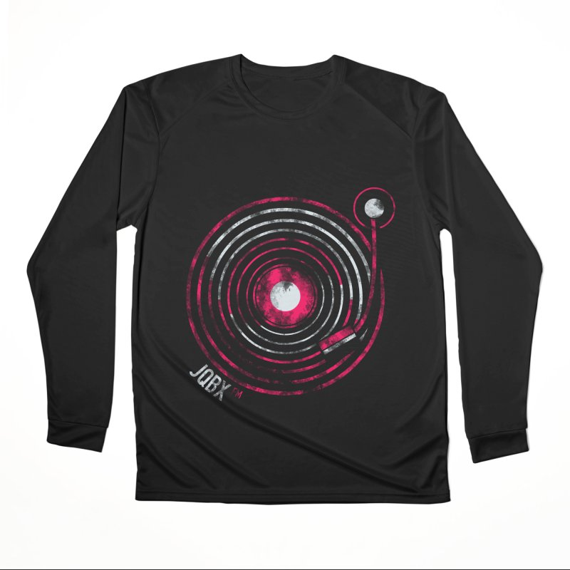 JQBX record logo Women's Longsleeve T-Shirt by JQBX Store - Listen Together