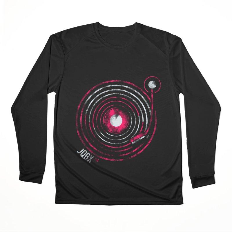 JQBX record logo Women's Performance Unisex Longsleeve T-Shirt by JQBX Store - Listen Together