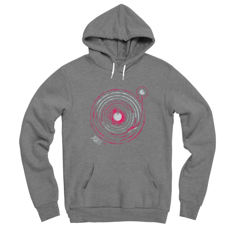 JQBX record logo Men's Pullover Hoody by JQBX Store - Listen Together