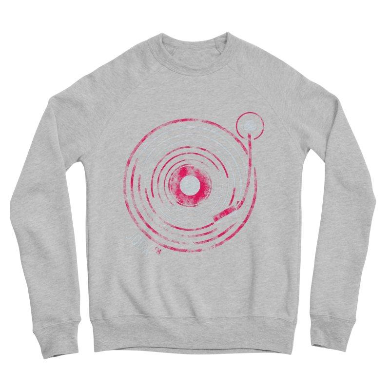 JQBX record logo Men's Sponge Fleece Sweatshirt by JQBX Store - Listen Together