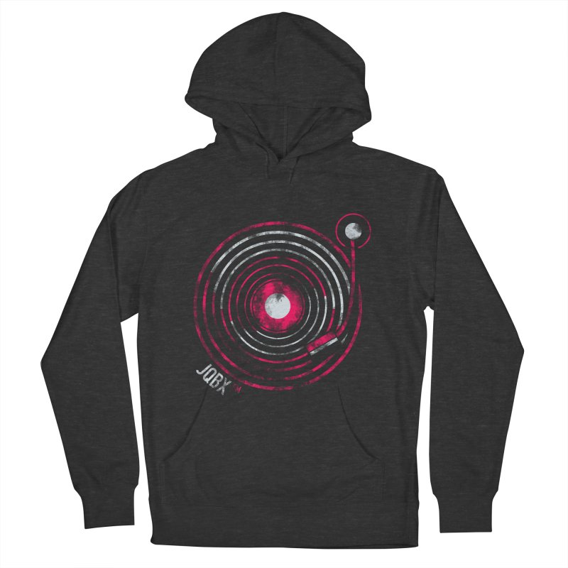 JQBX record logo Women's French Terry Pullover Hoody by JQBX Store - Listen Together