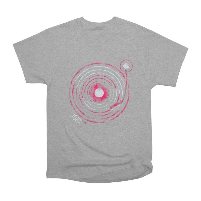 JQBX record logo Men's Heavyweight T-Shirt by JQBX Store - Listen Together