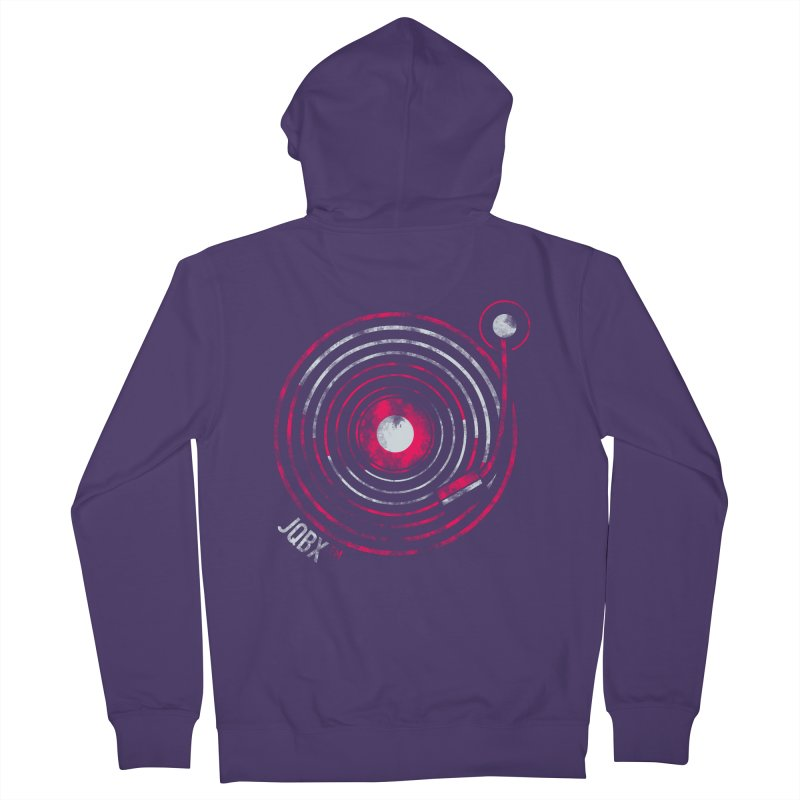 JQBX record logo Women's Zip-Up Hoody by JQBX Store - Listen Together