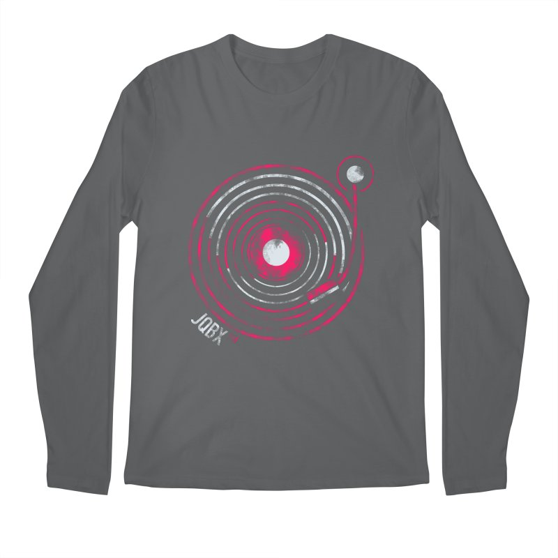 JQBX record logo Men's Longsleeve T-Shirt by JQBX Store - Listen Together