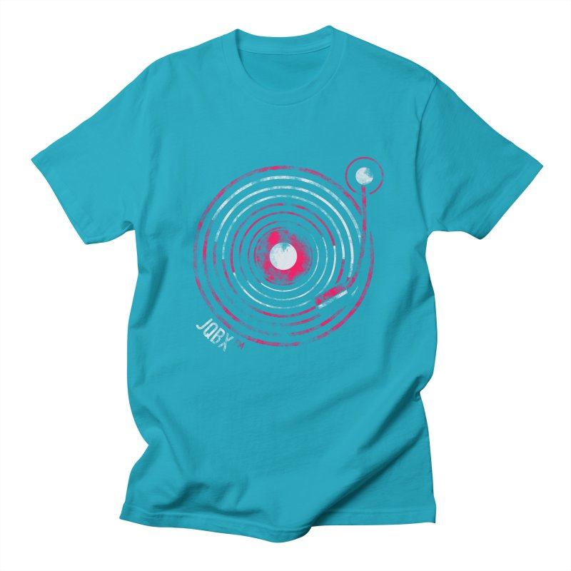 JQBX record logo Women's Regular Unisex T-Shirt by JQBX Store - Listen Together