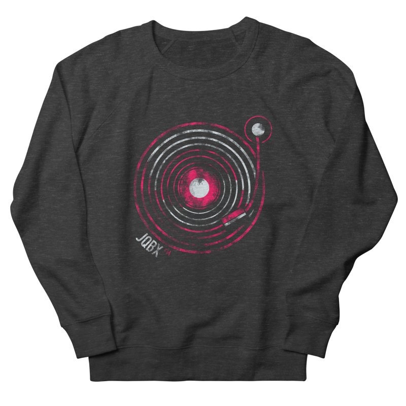 JQBX record logo Women's French Terry Sweatshirt by JQBX Store - Listen Together