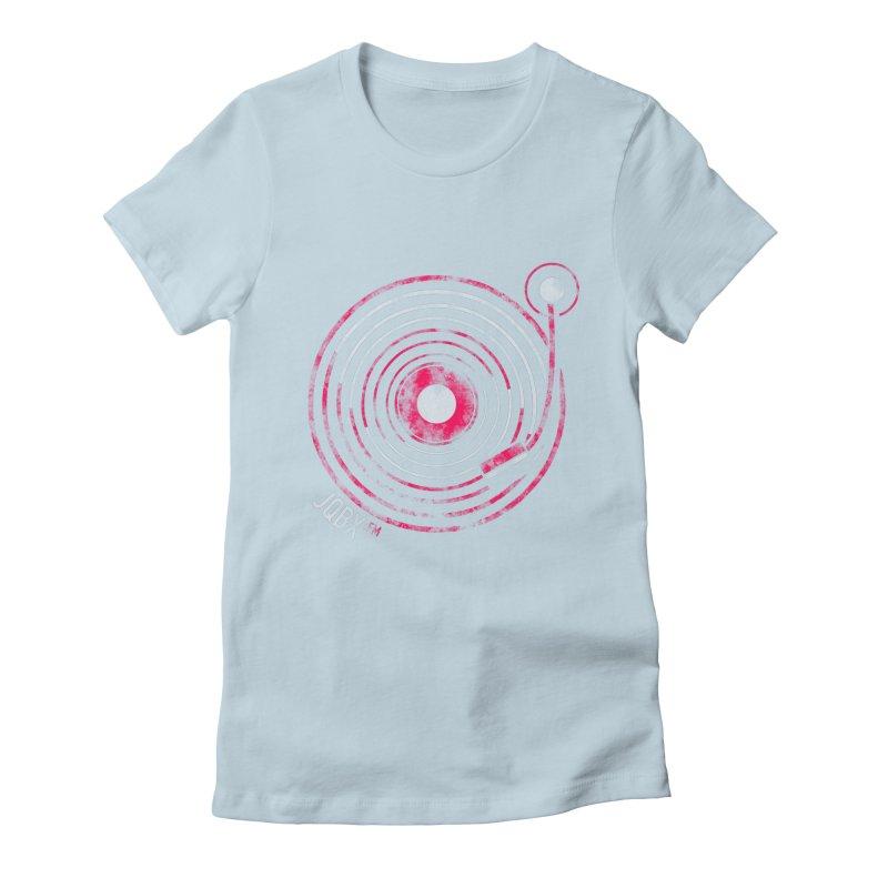 JQBX record logo Women's T-Shirt by JQBX Store - Listen Together