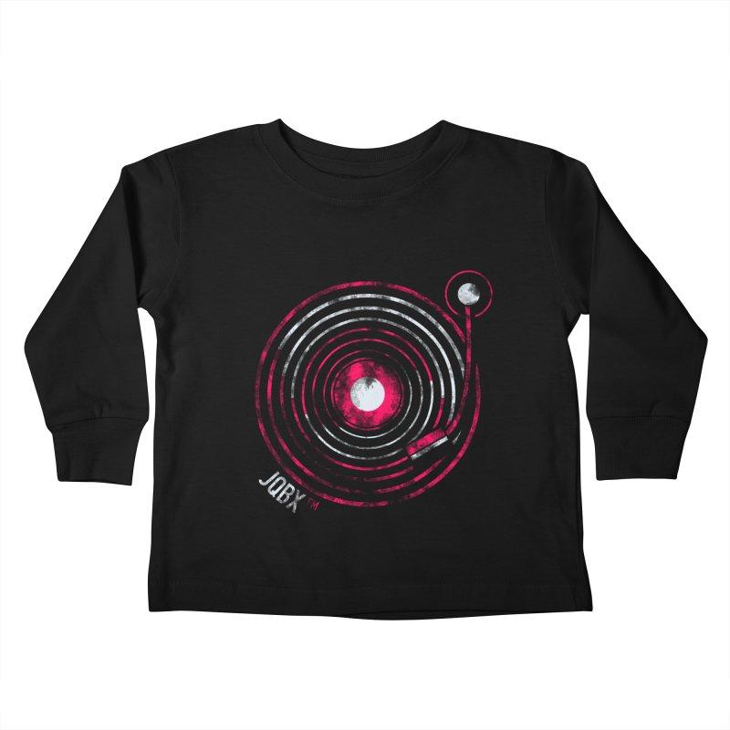 JQBX record logo Kids Toddler Longsleeve T-Shirt by JQBX Store - Listen Together
