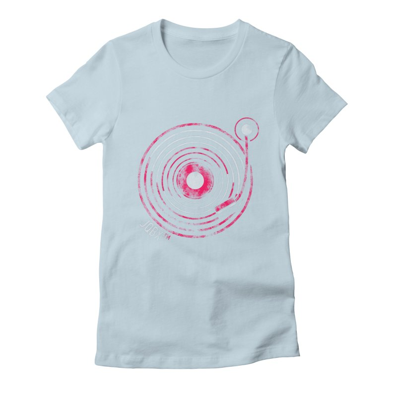 JQBX record logo Women's T-Shirt by JQBX Store - Listen Together