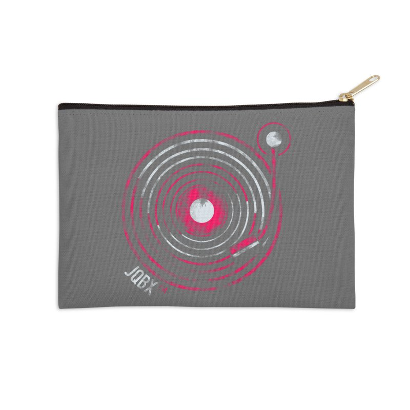 JQBX record logo Accessories Zip Pouch by JQBX Store - Listen Together