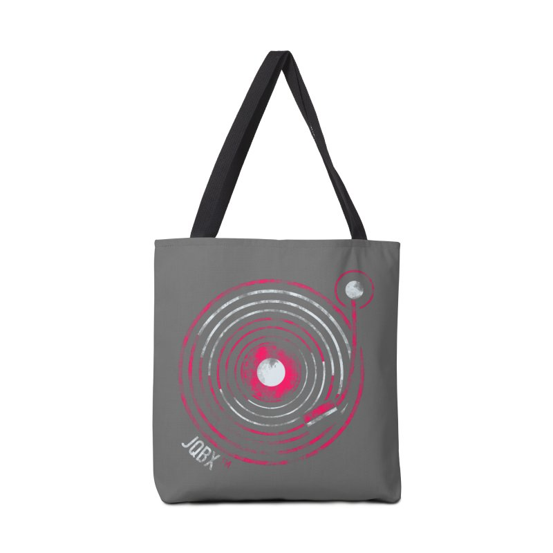 JQBX record logo Accessories Tote Bag Bag by JQBX Store - Listen Together