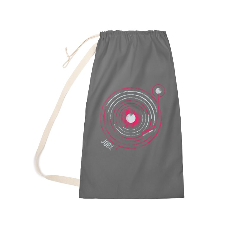 JQBX record logo Accessories Bag by JQBX Store - Listen Together