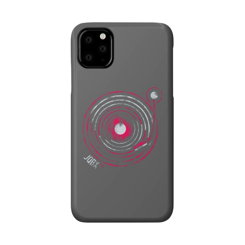 JQBX record logo Accessories Phone Case by JQBX Store - Listen Together