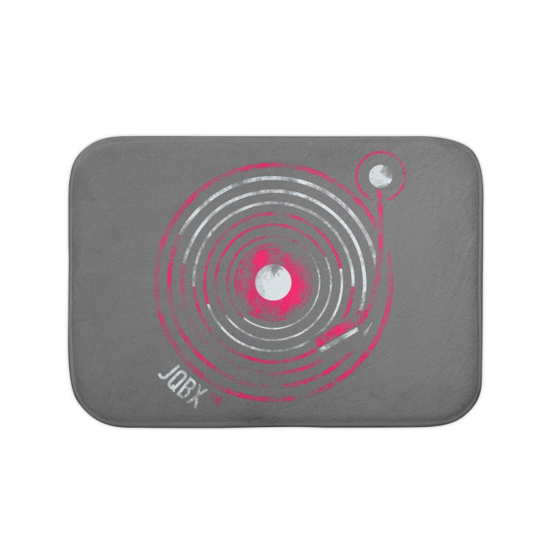 JQBX record logo Home Bath Mat by JQBX Store - Listen Together