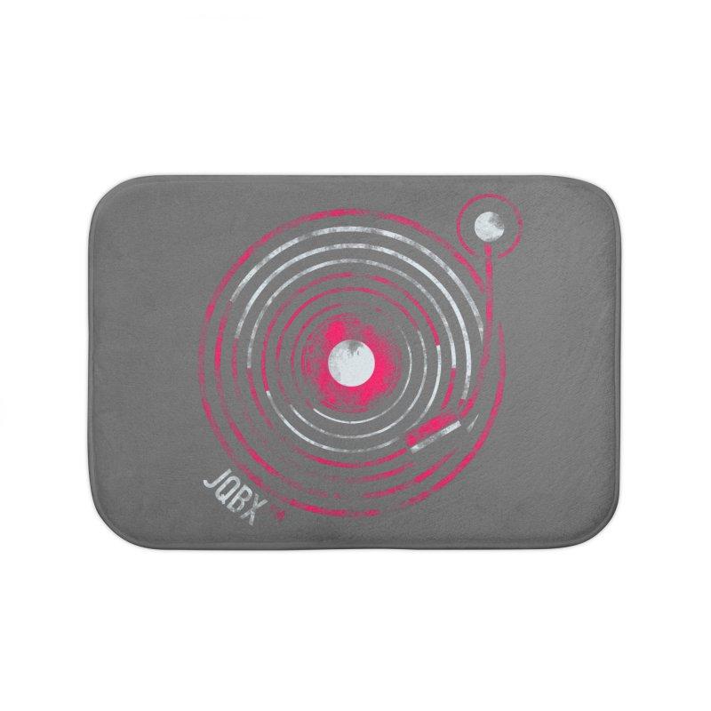 JQBX record logo Home Bath Mat by JQBX Store - Listen Together