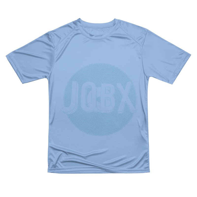 JQBX traced Women's Performance Unisex T-Shirt by JQBX Store - Listen Together