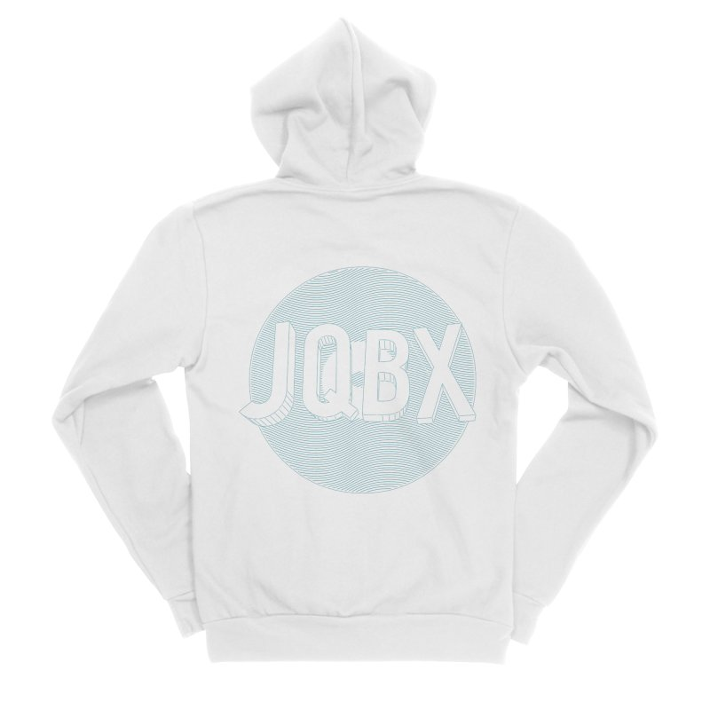JQBX traced Men's Zip-Up Hoody by JQBX Store - Listen Together