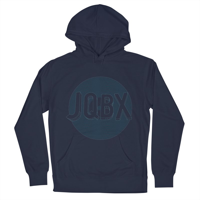 JQBX traced Men's French Terry Pullover Hoody by JQBX Store - Listen Together