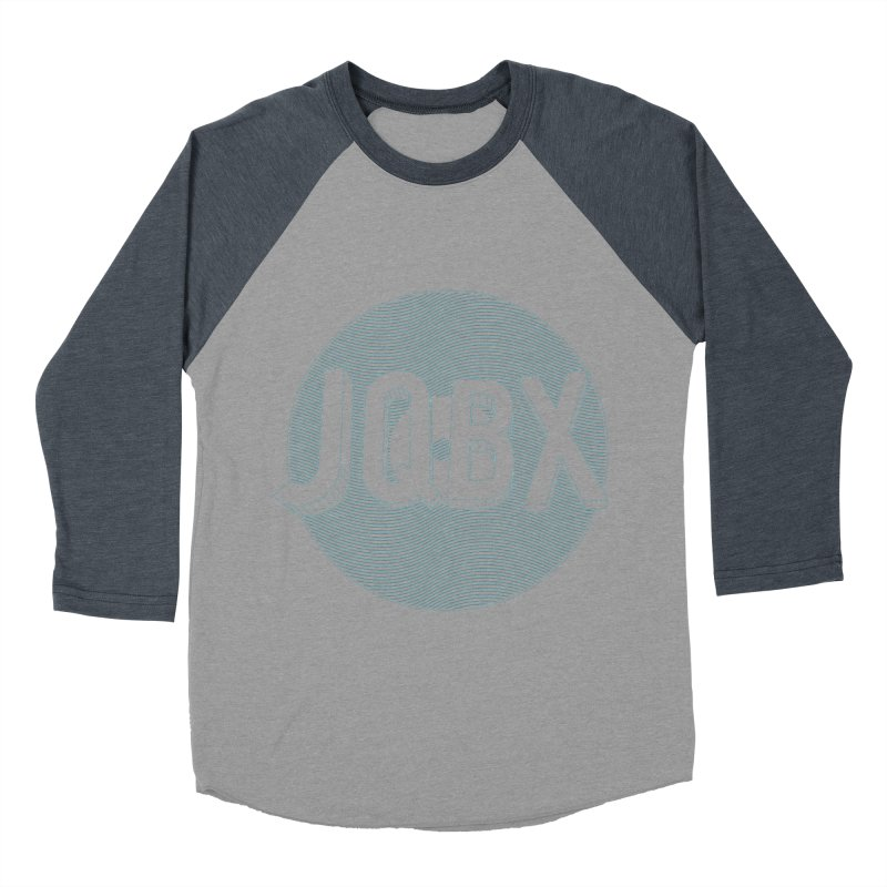 JQBX traced Men's Baseball Triblend Longsleeve T-Shirt by JQBX Store - Listen Together