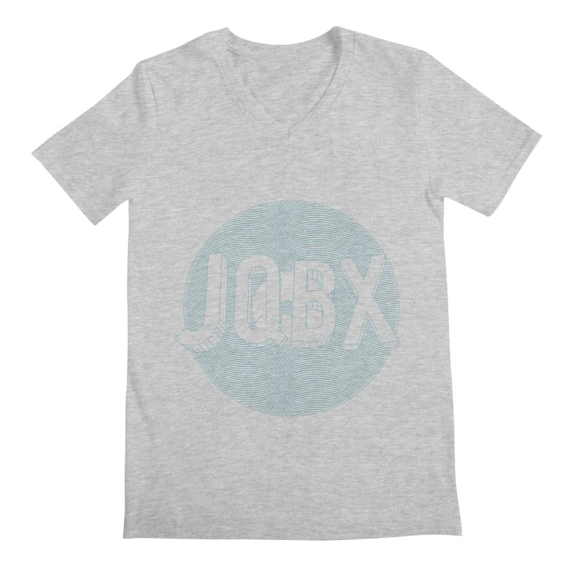 JQBX traced Men's Regular V-Neck by JQBX Store - Listen Together