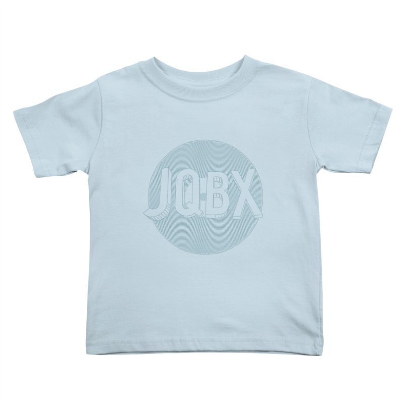 JQBX traced Kids Toddler T-Shirt by JQBX Store - Listen Together