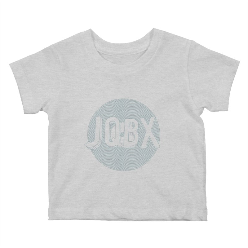 JQBX traced Kids Baby T-Shirt by JQBX Store - Listen Together