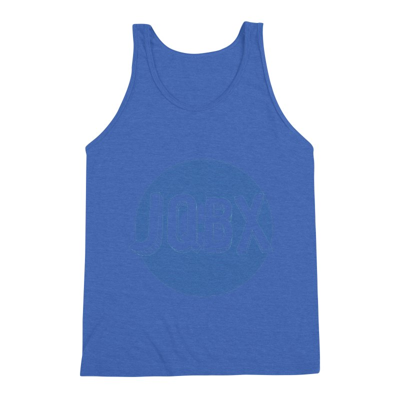 JQBX traced Men's Triblend Tank by JQBX Store - Listen Together