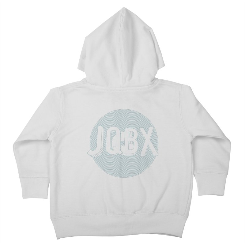 JQBX traced Kids Toddler Zip-Up Hoody by JQBX Store - Listen Together