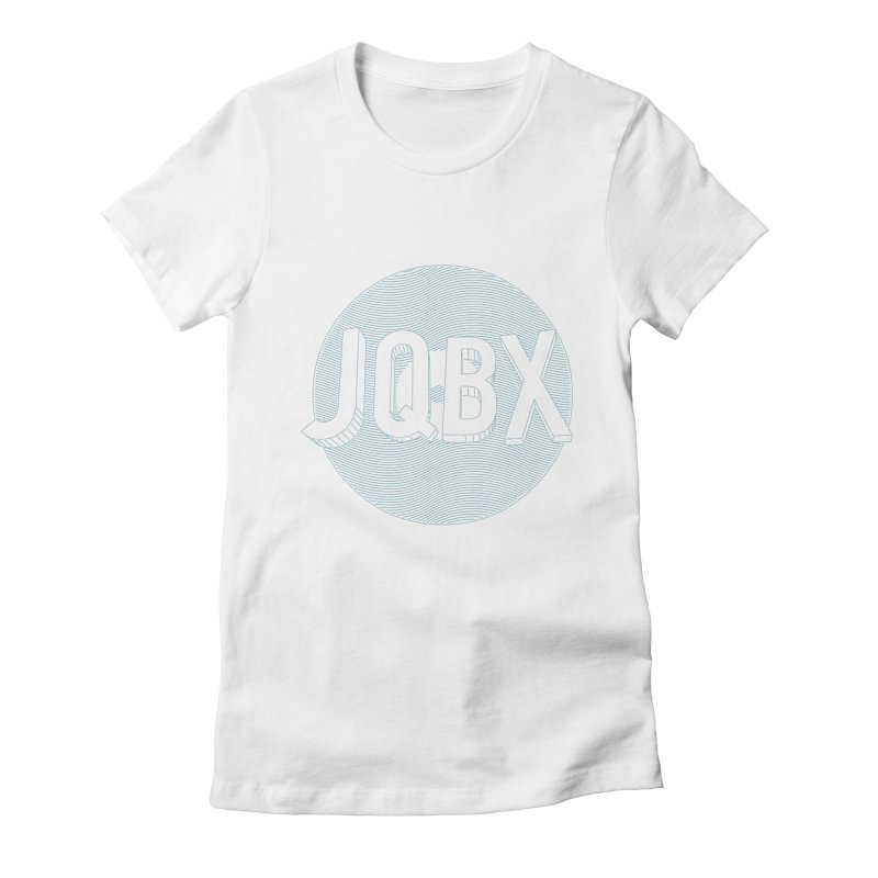 JQBX traced Women's Fitted T-Shirt by JQBX Store - Listen Together