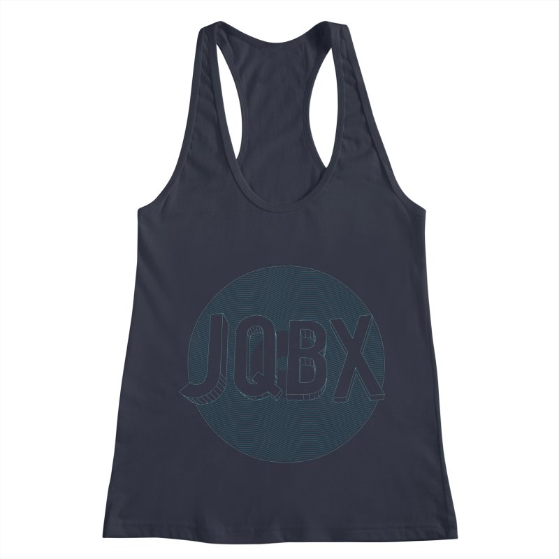 JQBX traced Women's Racerback Tank by JQBX Store - Listen Together