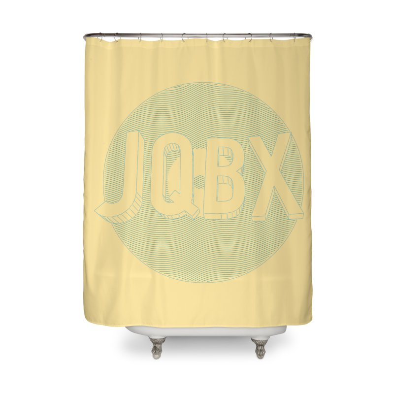JQBX traced Home Shower Curtain by JQBX Store - Listen Together