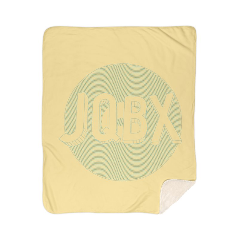 JQBX traced Home Sherpa Blanket Blanket by JQBX Store - Listen Together
