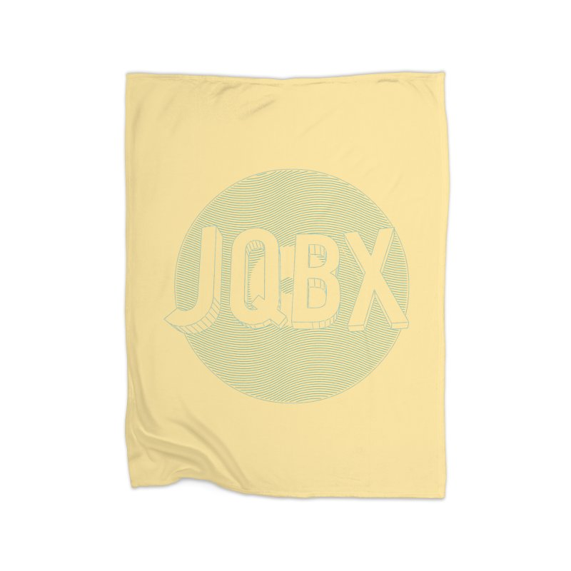 JQBX traced Home Fleece Blanket Blanket by JQBX Store - Listen Together