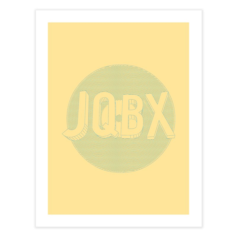 JQBX traced Home Fine Art Print by JQBX Store - Listen Together