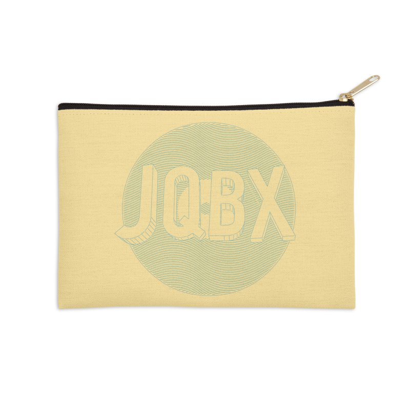 JQBX traced Accessories Zip Pouch by JQBX Store - Listen Together