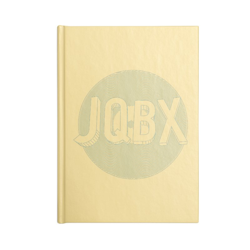JQBX traced Accessories Lined Journal Notebook by JQBX Store - Listen Together