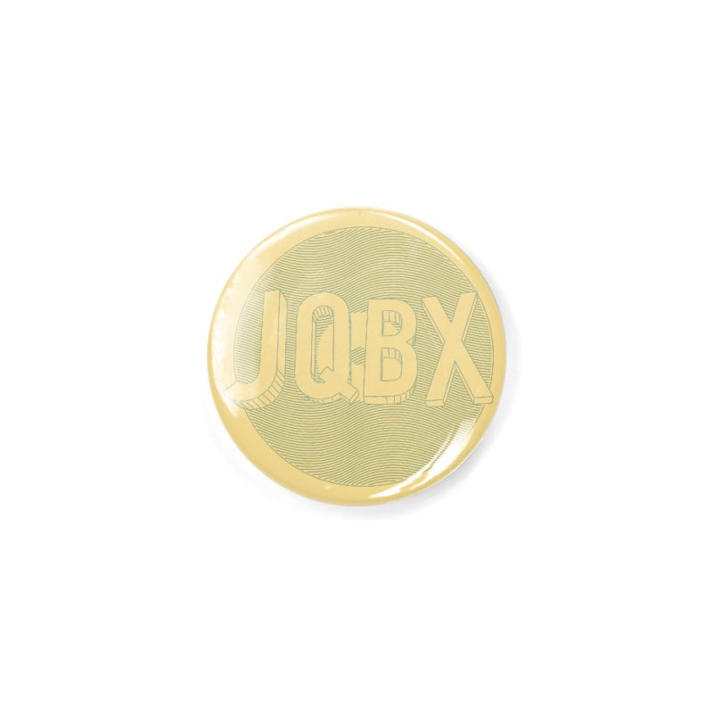 JQBX traced Accessories Button by JQBX Store - Listen Together