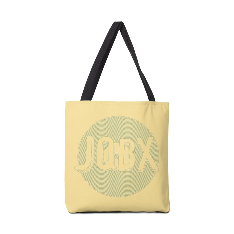 JQBX traced Accessories Tote Bag Bag by JQBX Store - Listen Together