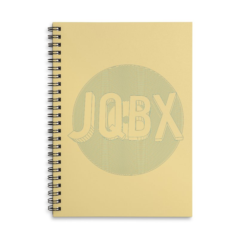 JQBX traced Accessories Notebook by JQBX Store - Listen Together