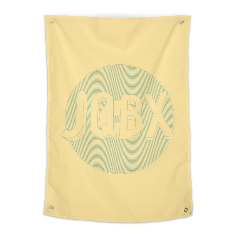 JQBX traced Home Tapestry by JQBX Store - Listen Together