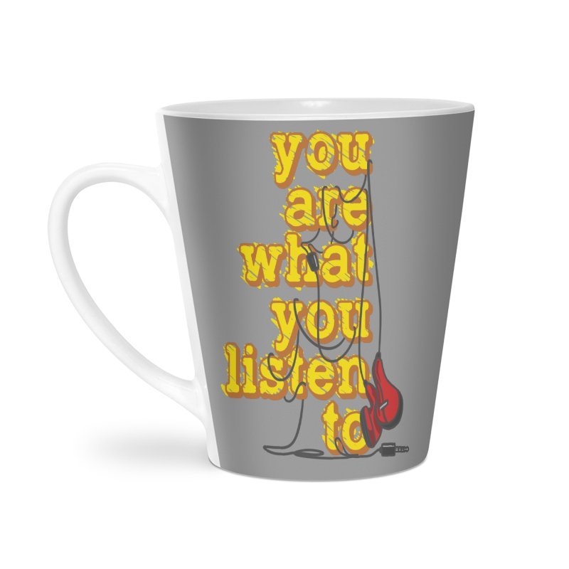 You are what you listen to Accessories Mug by JQBX Store - Listen Together