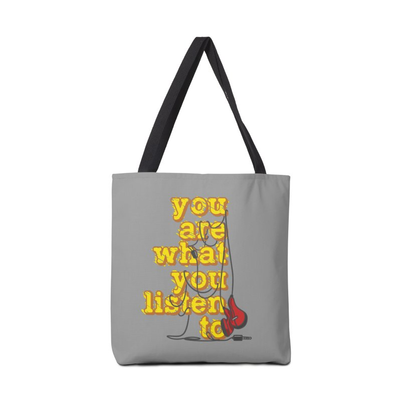 You are what you listen to Accessories Bag by JQBX Store - Listen Together